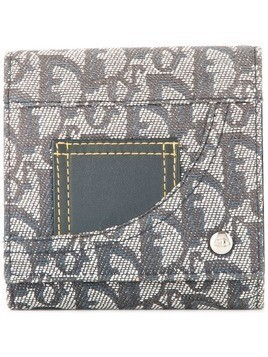 Christian Dior Pre-Owned Trotter jeans wallet - Blue