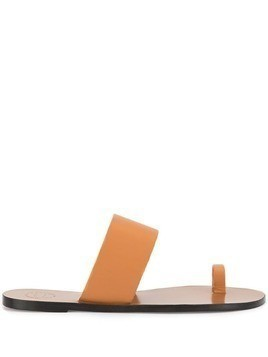 Atp Atelier toe strap sandals - Brown