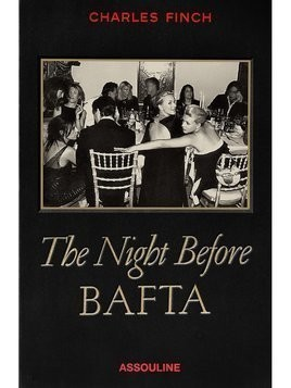 Assouline The Night Before BAFTA book - Black