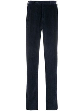 Canali cotton corduroy chinos - Blue