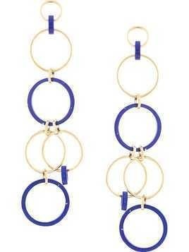 Joanna Laura Constantine Statement pendant hoop earrings - Gold