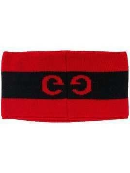 Gucci GG logo headband - Red