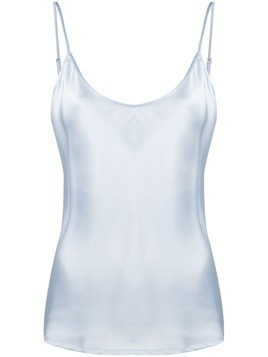 La Perla silk top - Blue