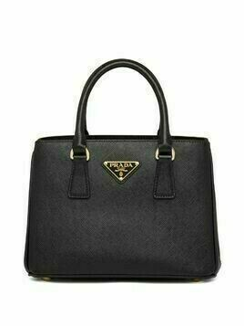Prada Saffiano tote bag - Black