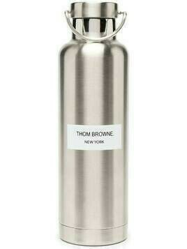 Thom Browne logo patch water bottle (700ml) - 035 MED GREY