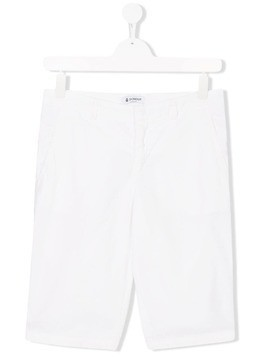 Dondup Kids TEEN knee length shorts - White