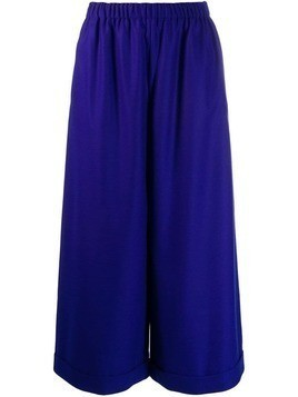 Daniela Gregis high-waisted wide trousers - Blue