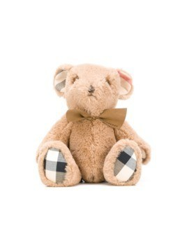 Burberry Kids checked teddy bear - Nude&Neutrals