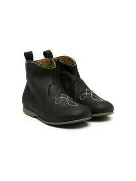 Pépé Kids stitched detail ankle boots - Black