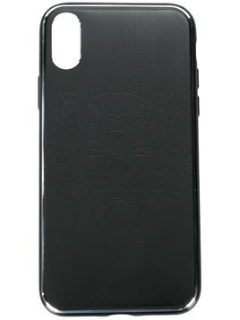 Kenzo Tiger etched iPhone X case - Black