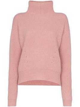 Le Kasha Verbier ribbed cashmere sweater - Pink