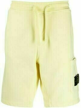Stone Island jersey shorts - Yellow