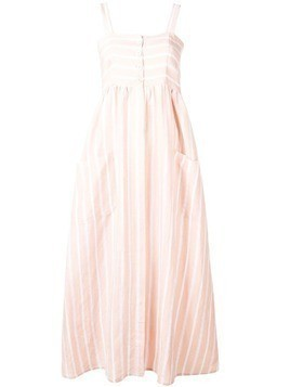 Iris Von Arnim striped summer dress - Neutrals