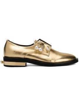 Coliac Fernanda embellished shoes - Gold