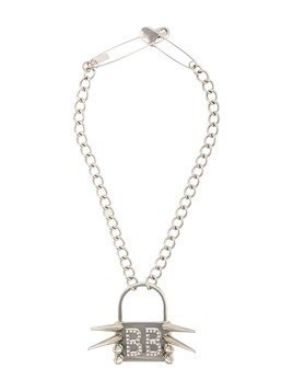 Barbara Bologna punk padlock necklace - Silver