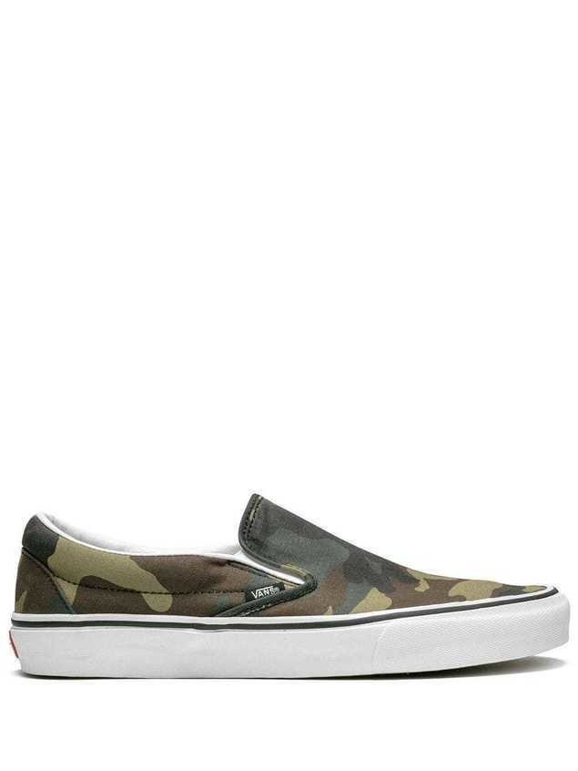Vans Classic slip-on sneakers - Green