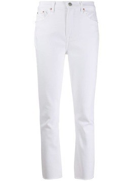 Grlfrnd slim-fit jeans - White