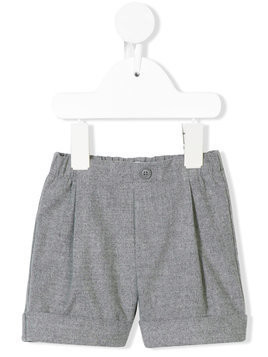Il Gufo pleated shorts - Grey
