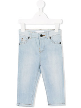Burberry Kids slim-fit jeans - Blue