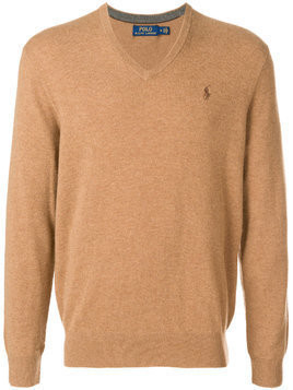 Polo Ralph Lauren V-neck sweater - Brown