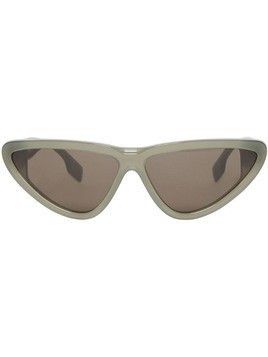 Burberry Triangular Frame Sunglasses - Green