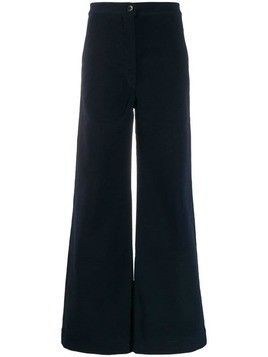 Katharine Hamnett London Anna moleskin trousers - Blue