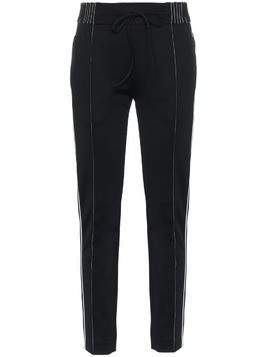 Valentino logo detail track trousers - Black