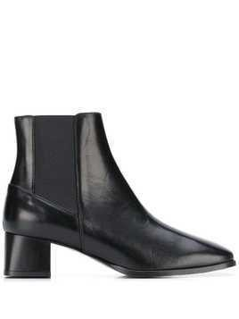 Atp Atelier Altea square-toe ankle boots - Black
