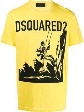 Dsquared2 Mountaineering T-shirt - Yellow