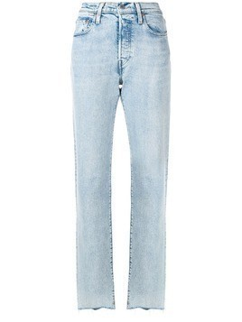 Levi's: Made & Crafted slim fit jeans - Blue