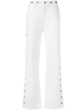 Levi's: Made & Crafted Union jeans - White