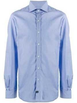 Fay plain shirt - Blue