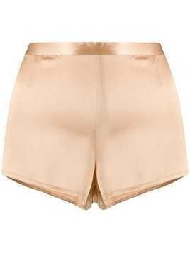 La Perla silk shorts - Neutrals
