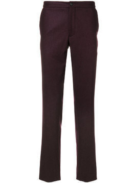 Incotex straight leg trousers - Red