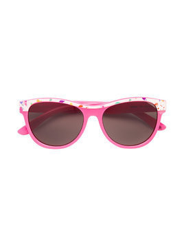 Stella Mccartney Kids paint-splatter sunglasses - Pink & Purple
