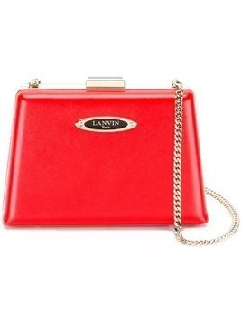 Lanvin Le Petit Sac box clutch - Red