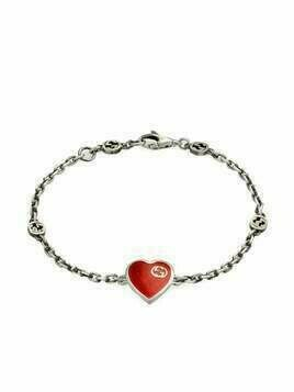 Gucci Interlocking G heart bracelet - SILVER