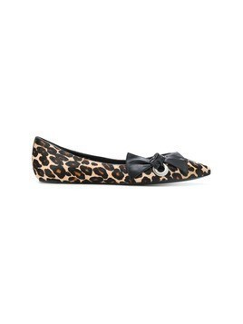 Marc Jacobs printed ballerina flats - Brown
