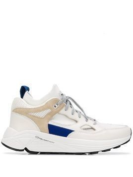 Brandblack low-top sneakers - White