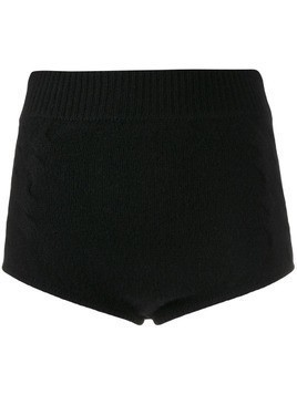 Cashmere In Love Mimie knitted knicker shorts - Black