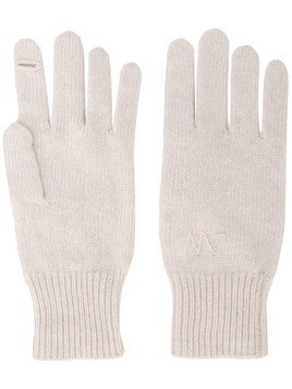 bfd124f617ad07 Alexandra Golovanoff knitted gloves - White