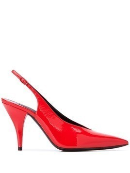 Casadei pointed toe pumps - Red