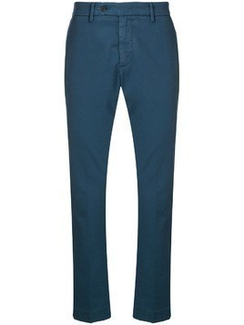 Al Duca D'Aosta 1902 straight-leg trousers - Blue