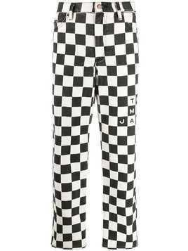 Marc Jacobs checkered jeans - Black