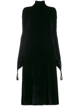 Aganovich high neck shift dress - Black