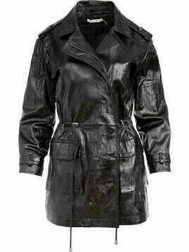 Alice+Olivia wrinkled effect jacket - Black