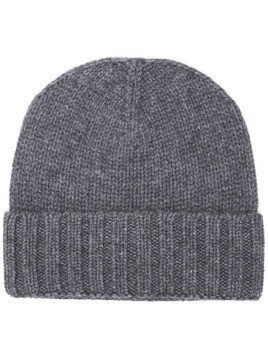 Entre Amis ribbed beanie - Grey