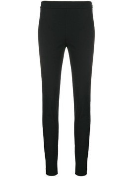 Theory side-zip skinny trousers - Black