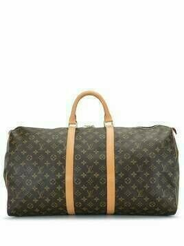 Louis Vuitton 2005 pre-owned Keepall 55 holdall - Brown