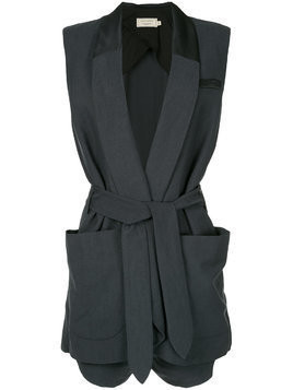 Maison Kitsuné Angelina playsuit - Blue